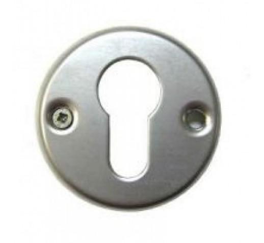 Ключевина под цилиндр хром мат. 55мм (004)