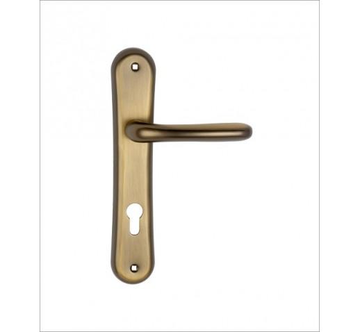 DOMAX Ручка дверная 163 L BR (коричневый) 00000001623