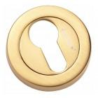Накладка на евроцилиндр CL-20G CL S. GOLD мат. золото