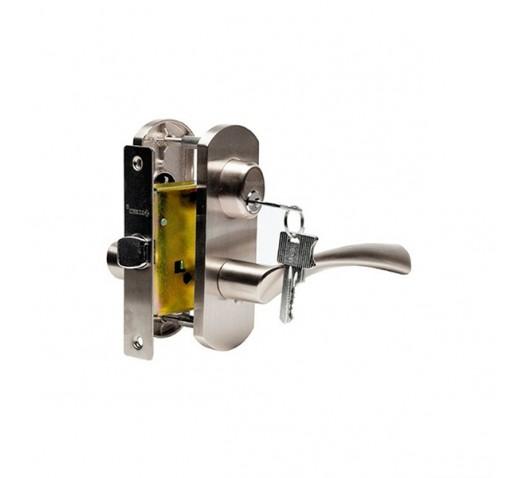 Ручка  дверная ARCHIE T111-X11H-V1 (белый никель)