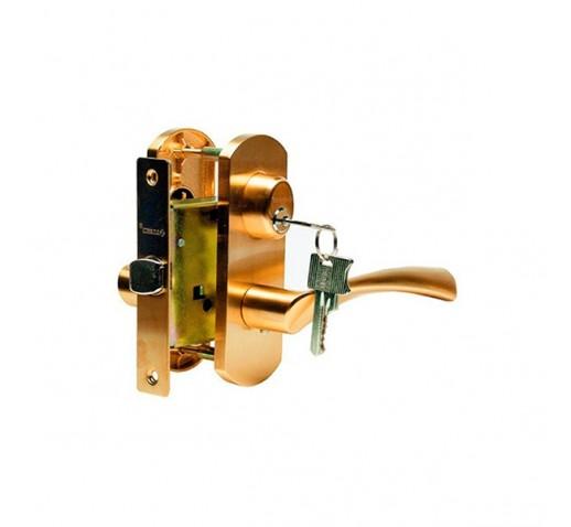 Ручка  дверная ARCHIE T111-X11I-V1 (мат.латунь)