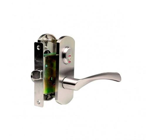 Ручка  дверная ARCHIE T111-X11H-V2 (белый никель)