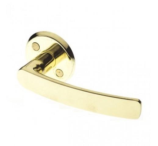 Ручка дверная латунное покрытие (16/006 GOLD)