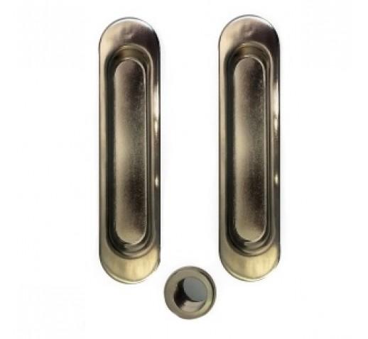 Ручки для раздвижных дверей CORONA CR-11 Pass SN никель