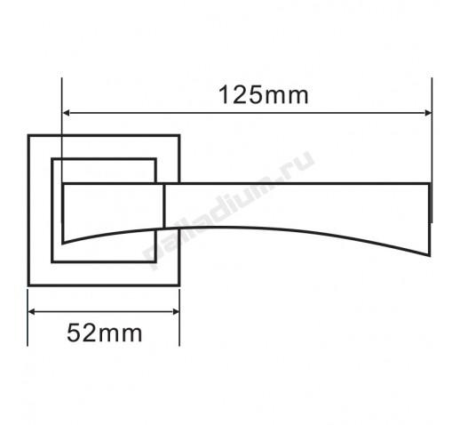PALLADIUM Ручка A Trevi  SN/CP 00011351