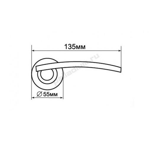 PALLADIUM Ручка ASOLO AB/CP 00009387