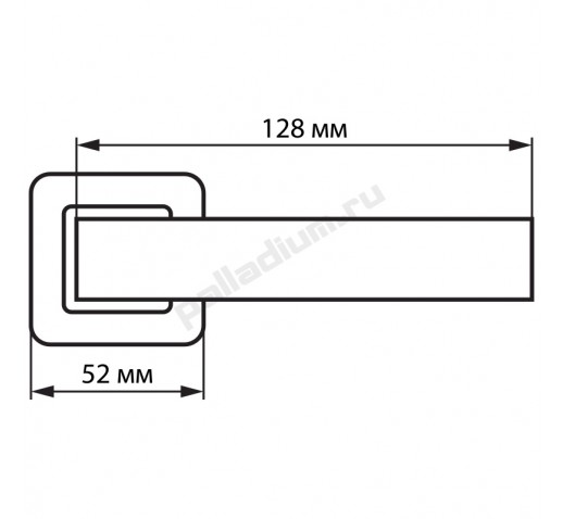 PALLADIUM Ручка MATTER MG УТ-00000332