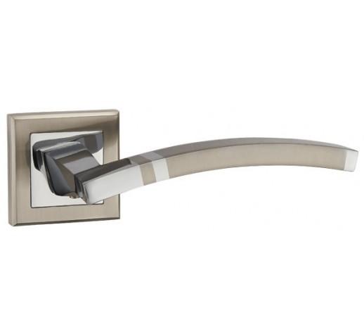 Ручка раздельная NAVY QL SN/CP-3 матовый никель/хром 33163
