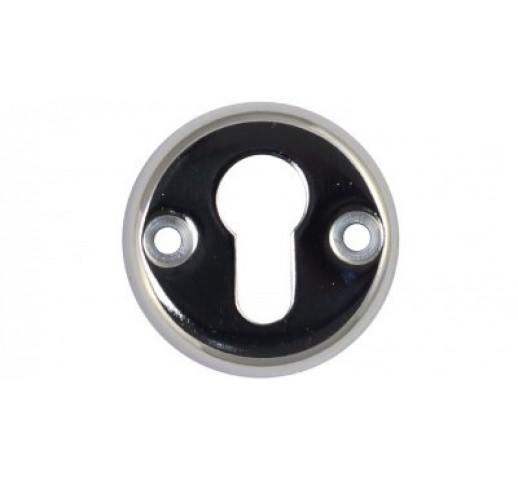 Ключевина под цилиндр хром 50 мм (004)