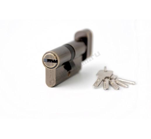 Цилиндровый механизм 60 C BK AB перфо к/верт бронза PALLADIUM 00011457