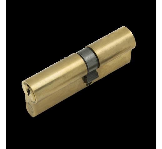 Цилиндровый механизм 6080 80мм. (35х10х35) латунь