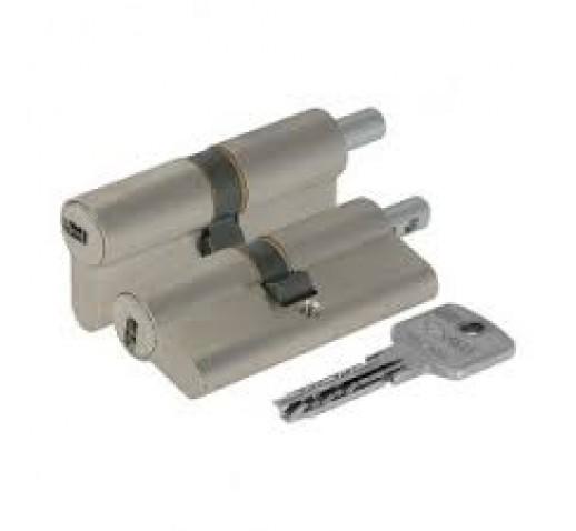 Цилиндровый механизм OA312-23.12 Astral (99мм/44,5х10х44,5) никель под вертушку