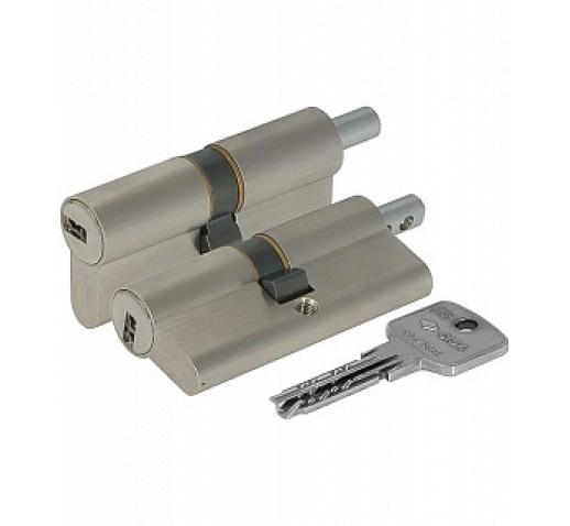 Цилиндровый механизм OA312-19.12 Astral (79мм/29,5+10+39,5) никель под вертушку CISA