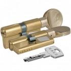 Цилиндровый механизм 164 BM 72мм (30х10х32) латунь