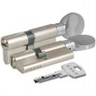 Цилиндровый механизм 164 BM 75мм (30х10х35) никель