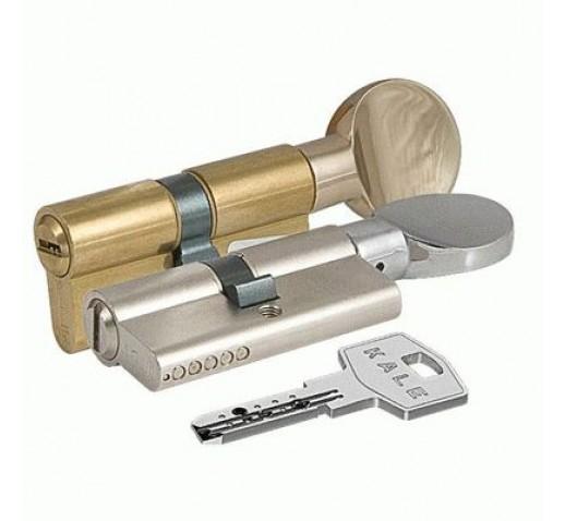 Цилиндровый механизм 164 BМ 100мм(40х10х50) никель