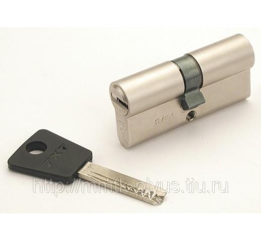 Цилиндр (7х7) L 90 ТФ (40Тх50) к/б никель