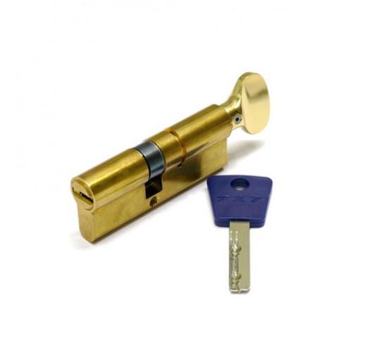 Цилиндр механизм (7х7) L 80 ТФ (35х45Т) к/в. латунь