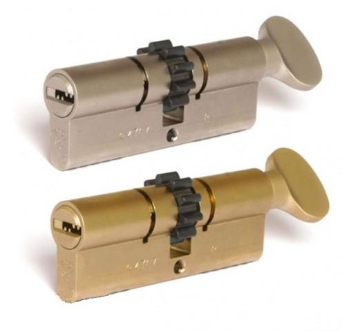 Цилиндр INTEGRATOR BSE L 76 ТШ (33Тх43) к/верт. латунь