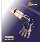 Цилиндровый механизм C 55/35 SB мат.золото MSM