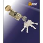 DOMAX Цилиндровый механизм NW 70мм к/в 5кл. PB золото