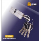 Цилиндровый механизм C 55/40 SN мат. хром MSM