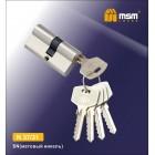 Цилиндровый механизм N 37/31мм к/к 5кл. SN мат. ник MSM