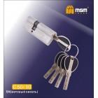 Цилиндровый механизм C 50/30мм SN мат. хром MSM