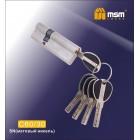 Цилиндровый механизм C 60/30мм SN мат. хром MSM