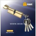 Цилиндровый механизм CW 100мм к/в 5 кл. перфо PB зол.