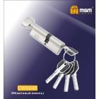 Цилиндровый механизм CW 55/45 к/б 5кл. перф. SN мат. никель