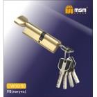 Цилиндровый механизм CW 60/50 к/б 5кл. перф. PB золото