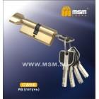 Цилиндровый механизм CW 80мм к\б 5кл. перф. SB м.зол