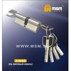 Цилиндровый механизм CW 80мм к\б5кл. перф. SN м/хр