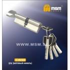 Цилиндровый механизм CW 90 мм к/б 5кл. перф. SN мат.хром