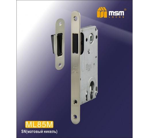 Замок врезной ML85M SN мат. никель MSM