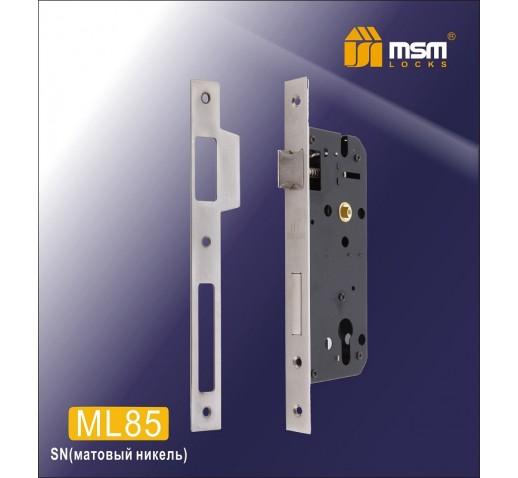 Замок врезной ML 85 SN никель