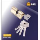 Цилиндровый механизм N 40/30мм к/к 5кл. PB золото