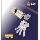 Цилиндровый механизм N 45/35 к/к 5кл. SB мат. золото