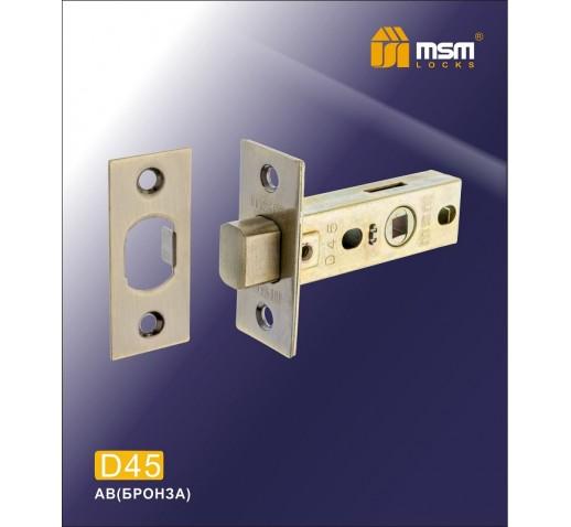 Задвижка D 45 AB бронза MSM