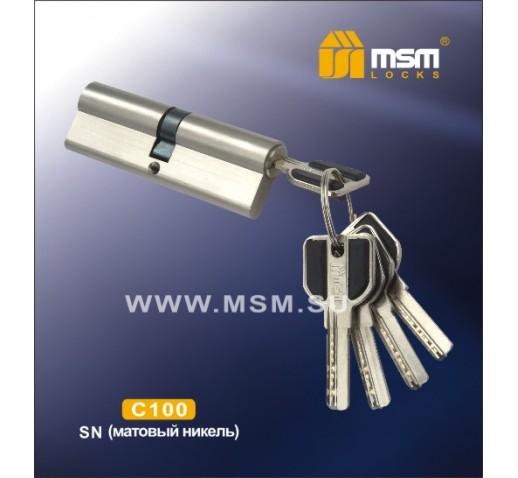 Цилиндровый механизм C 111 100мм к\к 5кл. перфо SN