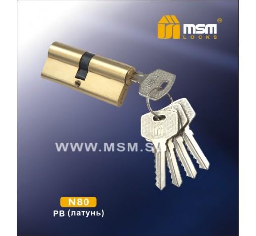 DOMAX Цилиндровый механизм N 80мм к/к 5кл.PB 00000001817