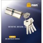 Цилиндровый механизм N 90мм к/к 5кл. SN никель