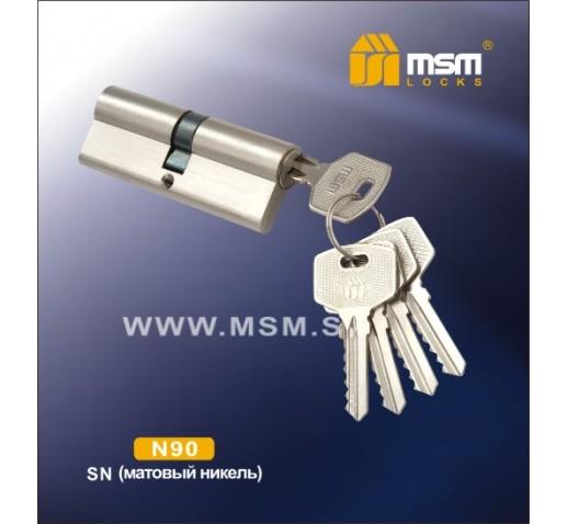 DOMAX Цилиндровый механизм N 90мм к/к 5кл.SN